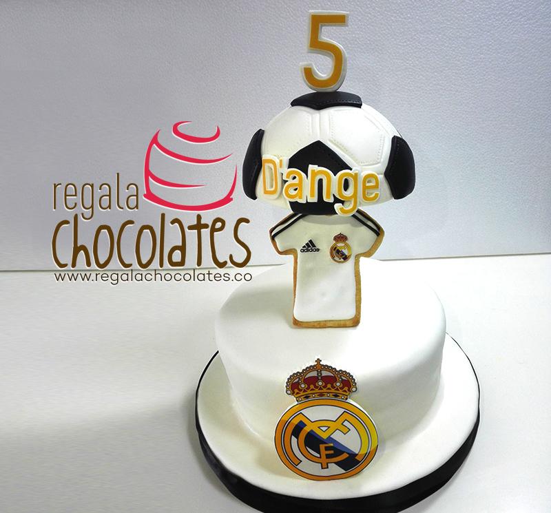 Tortas tem ticas de deportes en medell n regala chocolates for Telefono oficinas real madrid