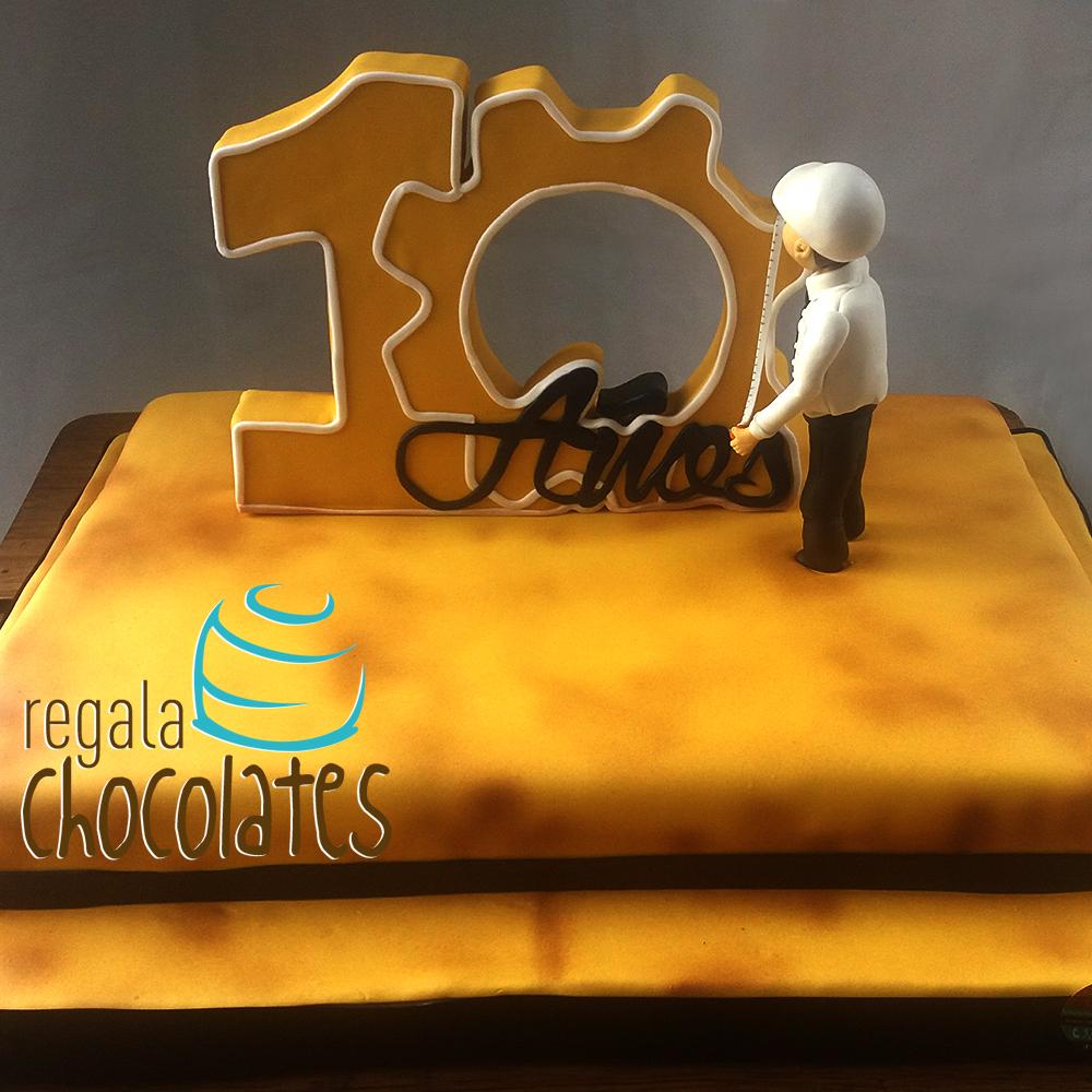 Tortas temáticas empresariales | en Medellín | Regala Chocolates
